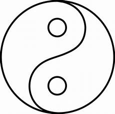 blank yin yang line free clip yin yang quilt