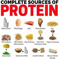 Complete Diet Chart The Complete Sources Of Protein Comment Your Favorite One