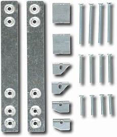 ge cabinet mounting kit for select microwaves silver