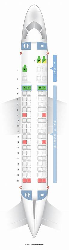 American Eagle Seating Chart Seatguru Seat Map American Airlines Embraer Erj 175 E75 V2