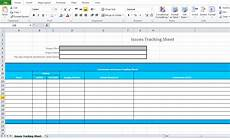 Issues Tracker Issue Tracking Template Excel Microsoft Excel Tmp