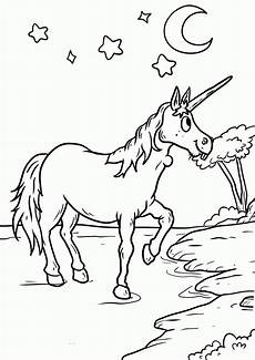 Malvorlagen Frozen Lake Unicorn In The Unicorn Is In Lake To Color Coloring