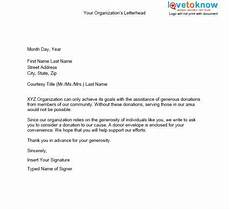 Non Profit Donation Letter Samples Fundraising Letters Emmamcintyrephotography Com