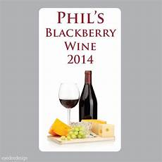 Homemade Wine Labels 20 X Large Personalised Homemade Wine Making Bottle Labels