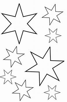 Sterne Malvorlagen Kostenlos Sterne Zum Ausmalen Ausmalbilder F 252 R Kinder Schule
