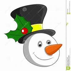 Snowman Faces Clip Art Snowman Face Stock Vector Illustration Of Berry Holiday