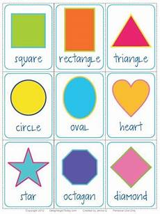 Shape Chart For Toddlers Free Shape Flashcards Download And Printable Delighting