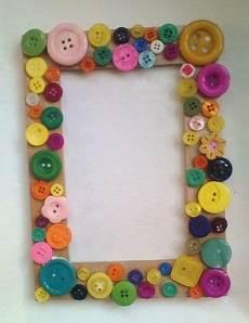 cornici per bambini fai da te foto cornice di bottoni cool crafty
