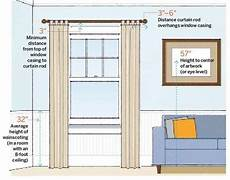 How To Hang Curtain Rods How To Hang Curtains Right Hirerush
