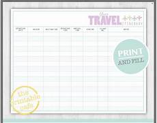 Itinerary Planner Template Free 10 Itinerary Template Examples Templates Assistant