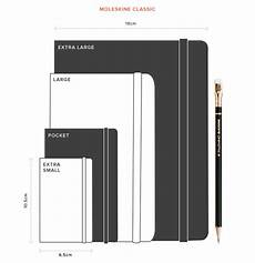 Executive Paper Size Chart Notebook Sizes The Ultimate Guide To Notebook Sizes Journal