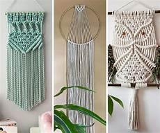 10 gorgeous macrame patterns for boho wall hangings