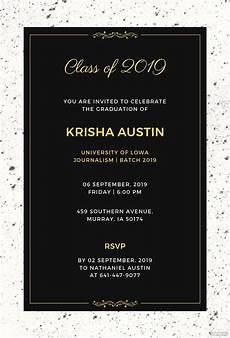Graduation Announcements Templates Free Free Graduation Announcement Invitation Template In