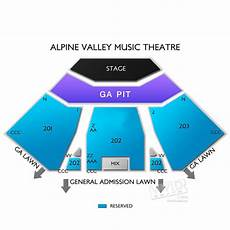 Alpine Valley Detailed Seating Chart Alpine Valley Seating Charts And Tickets