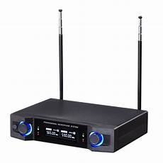 Professional Channel Channel Wireless Handheld Microphone by Yescomusa Professional Dual Channel Receiver Uhf 565
