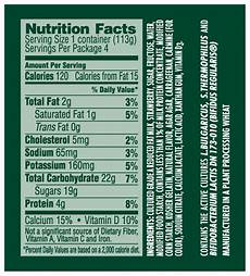 Activia Light Yogurt Nutrition Label Food Lies Exposing One Food Lie At A Time