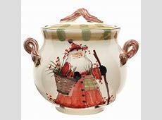 Vietri Old St. Nick Biscotti Jar Replacement Lid (Jar Not