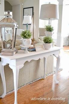 Sofa Table Decor 3d Image 25 best sofa table ideas and designs for 2020