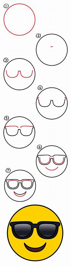 Easy Emoji Art How To Draw A Cool Emoji Art For Kids Hub