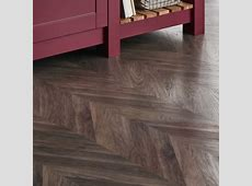 Professional Grey Chevron laminate flooring   Flooring     Howdens Joinery