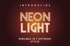 Stheititc Light Font Neon Light Free Font Download