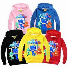 pj mask clothes pj masks hoodies costume clothing cotton sweat shirt