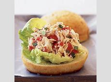 Tuna Tortas with Pico de Gallo Recipe   MyRecipes