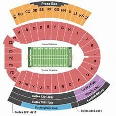 Wisconsin Badgers Seating Chart Camp Randall Stadium Seating Chart