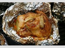 Human Spirit of Adventure: CAMPFIRE COOKING: ROCK CHICKEN