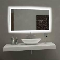Bathroom Mirror Side Lights Paris Mirror Rectangle Bathroom Mirror With Led Backlights