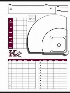 Softball Pitching Chart Template Baseball Scouting Chart Baseball Savings Baseball