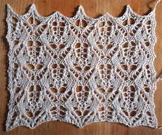 heatwave a free lace knitting stitch pattern string geekery