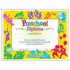 Preschool Graduation Certificates Preschool Graduation Diploma 30 Count Ctt Graphics