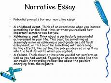 Examples Of A Narrative Essay How To Write A Narrative Essay Example Topics