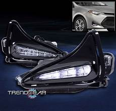 Corolla 2017 Fog Lights Bumper Driving Led Fog Lights Lamps Chrome W Switch For
