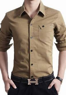 mens clothes clearance sale clearance sale of casual shirt in brown color in pakistan