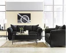 darcy black sofa loveseat set marjen of chicago