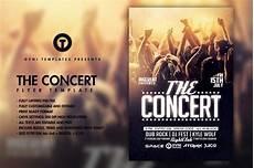 Concert Flyer Psd The Concert Band Flyer Template Flyer Templates