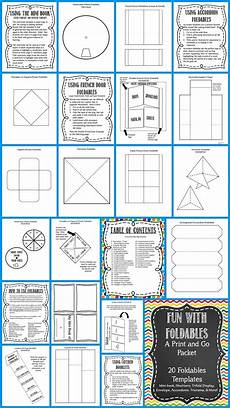 Paper Foldable Templates Pin On Shelly Rees Teaching Resources