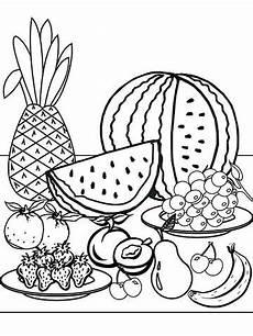 Malvorlagen Kinder Obst Printable Summer Coloring Pages