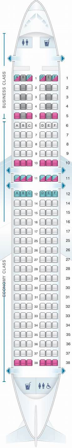 Airbus A320 214 Seating Chart Seat Map Swiss Airbus A320 200 Seatmaestro