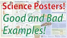Bad Poster Design Examples Scientific Poster Design Good And Bad Examples Poster