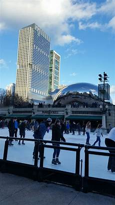 chicago thebean winter skating vacation city bbbrrr