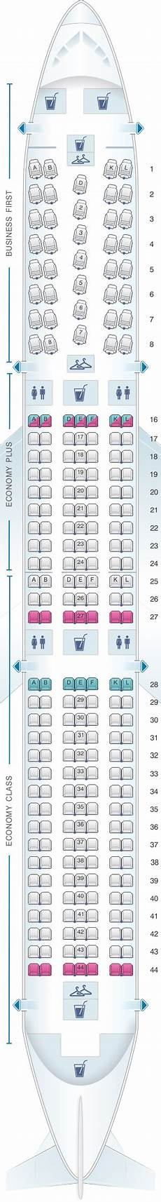 767 Jet Seating Chart Seat Map United Airlines Boeing B767 400er 764