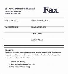 Examples Of A Fax Cover Sheet Free 8 Sample Fax Cover In Pdf