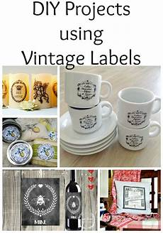 14 diy projects using vintage labels the graphics