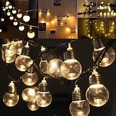 Extra Light Led 10 20 Led Solar Powered String Lights Led Outdoor Rated