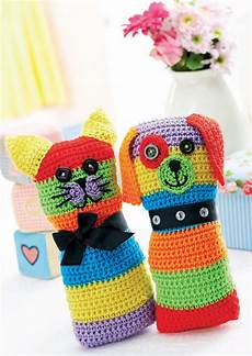 crochet cat and toys crochet pattern