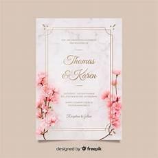 Wedding Invitation Card With Photo Wedding Invitation Vectors Photos And Psd Files Free