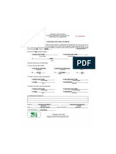Sample Birth Certificate Pdf Birth Certificate Translation Form